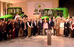 Directivos de Deere & Company reconocen el progreso logrado por John Deere en España